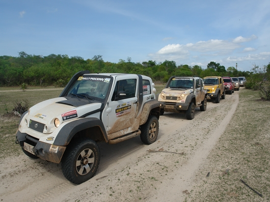 2º DIA - 23/JAN/2013- CARRO 4X4